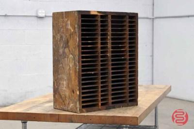 Hamilton Letterpress Furniture Cabinet - 022521083820