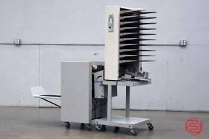 MBM Sprint 3000 Bookletmaker w/ Plockmatic 310 Maxxum 10 Bin Collator - 012921120340