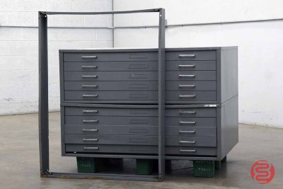 Mayline - C-File 10 Drawer Flat Files - 021721122650