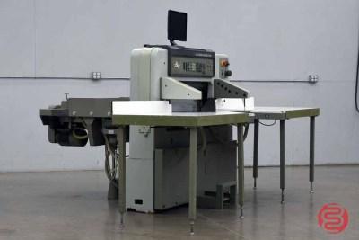 Polar 92 EMC-MON Programmable Paper Cutter - 021821042430
