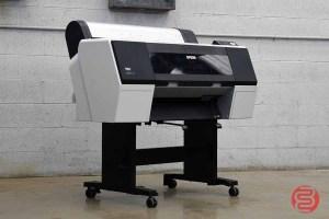 2013 Epson Stylus Pro 7890 24in Wide Format Printer - 030621093940