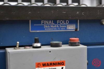 Dick Moll Final Fold Folder Gluer - 032421094740