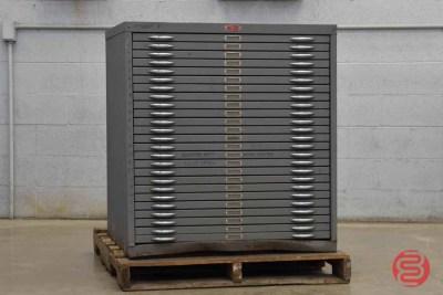 Letterpress Typekit Drawers Cabinet - 032521102930