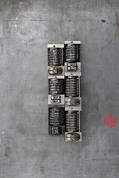 Numbering Machine (Qty -6) - 022621075420