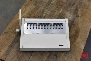 Tamerica TCC-210EPB Plastic Comb Electric Punch and Manual Bind - 033021114520