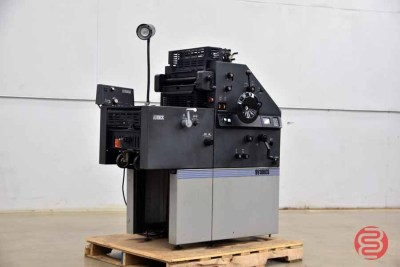 AB Dick 9910XCS Two Color Offset Printing Press - 042221114040