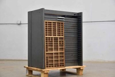 Hamilton Flat Letterpress Cabinet - 040921122640