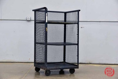 Metal Rolling Cart With Shelves - 040621115820