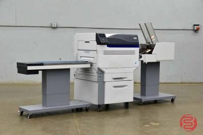Oki C931e Digital Color Printer w/ Straight Shooter Conveyor and Feeder - 042221023050