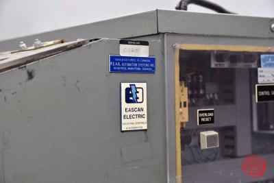 Peak Engineering P100 Hy Die Hydraulic Book Die Cutter - 041621092030