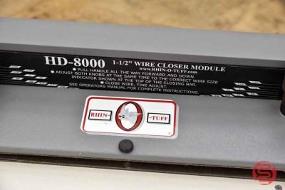 Rhin-O-Tuff HD8000 14in Manual Flat Bar Wire Closer - 042621101020