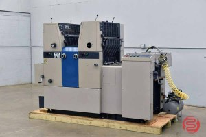 Ryobi 512 Two Color Offset Printing Press w/ Printing Control System - 040821031020