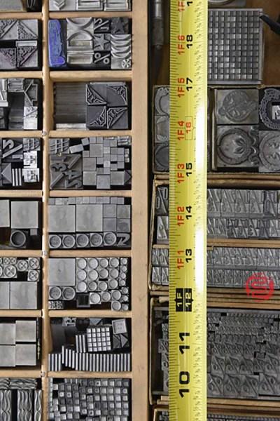 Assorted Letterpress Cuts - 050621112221
