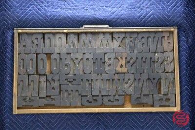 Assorted Letterpress Font Metal Type - 050521101655
