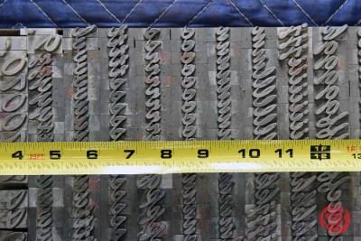 Assorted Letterpress Font Metal Type - 050621095156