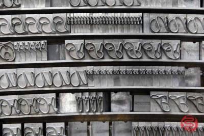 Assorted Letterpress Font Metal Type - 050621110745