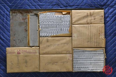 Assorted New Type Font Boxes (Qty - 8) - 050521115248