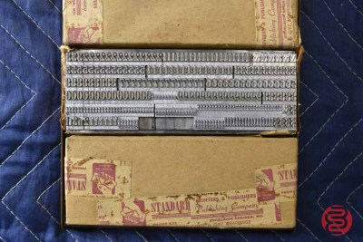 Assorted New Type Font Boxes (Qty - 9) - 050621100029