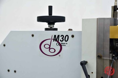 "Deluxe M30 1 1/4"" Flat Book / Saddle Stitcher - 051321012214"