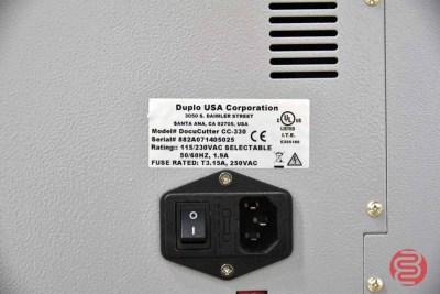 Duplo DocuCutter CC-330 Card Cutter - 052721022456