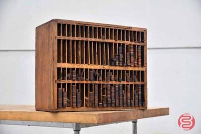 Hamilton Letterpress Furniture Cabinet - 050421104133