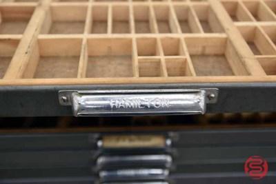 Hamilton Letterpress Typekit Cabinet - 050321020810