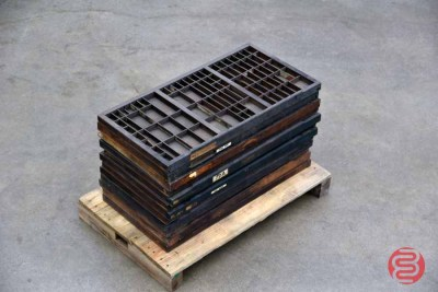 Hamilton Typekit Letterpress Drawers (Qty - 12) - 050421095212