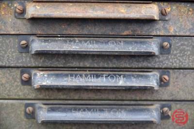 Hamilton Typekit Letterpress Drawers (Qty - 28) - 050421093532