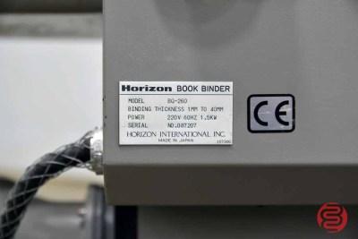Horizon BQ-260 Perfect Binder - 052021112043
