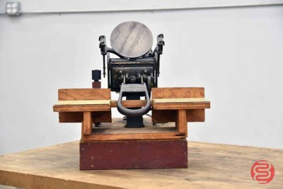 Kelsey & Co. Excelsior 3 x 5 Small Hand Letter Press - 050721111056