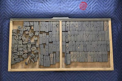Letterpress Font Wood Type - 050421025814