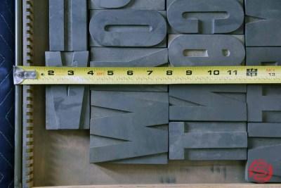Letterpress Font Wood Type - 050421032421