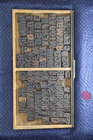 Letterpress Font Wood Type - 050521110354
