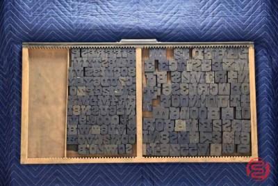 Letterpress Font Wood Type - 050521110856