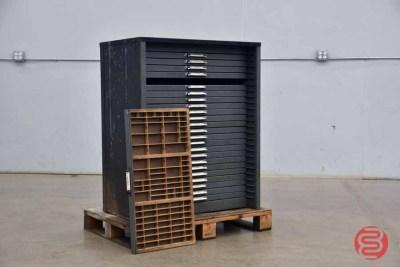 Letterpress Typekit Cabinet - 050321123050