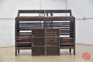Letterpress Typekit Cabinet - 050721104521