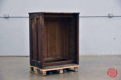 Letterpress Typekit Cabinet - 050721105623