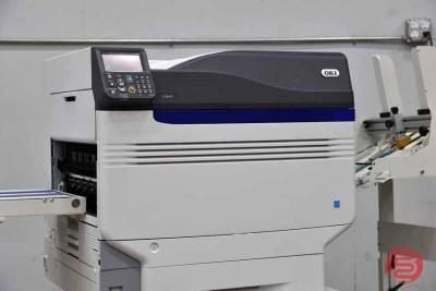 OKI C941 Digital Envelope Press w/ Feeder and Delivery Conveyor - 052621015210