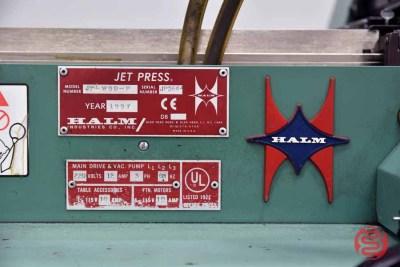 1997 Halm Jet JPL WOD-P Two Color High Speed Envelope Press - 060121100520