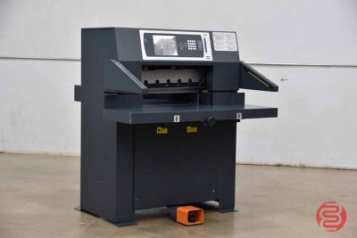 2010 Challenge Titan 265 26.5in Hydraulic Programmable Paper Cutter - 060421114912