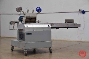 Acme Interlake Model 600 Automated Book / Corner Stitcher Built on Lug Conveyor - 060921100830
