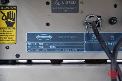 Challenge SRA3 Air Feed Paper Folder - 060321074038