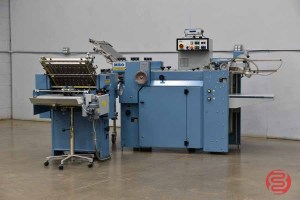 MBO B16 Pile Feed Paper Folder w/ 8 Page unit and Mobile Delivery - 061821110119