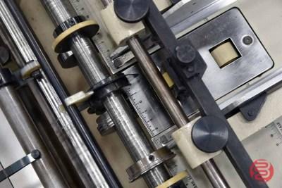 Rosback Model 220A True Line Perf Slit Score Crease Machine - 060521092910