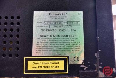 2005 Printware PlateStream SC Platesetter Computer to Plate System - 072421091640