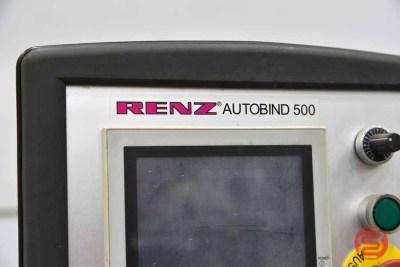 2007 Renz AutoBind 500 Wire Binder - 071321025910