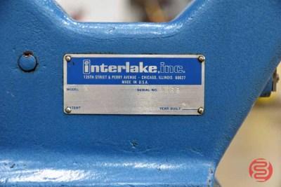 Acme Interlake Model A Flat Book / Saddle Stitcher - 072921125812