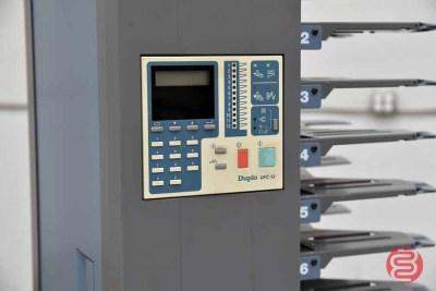 Duplo DBM-120 Booklet Making System w/ 12-Bin Collating Tower - 072321112340