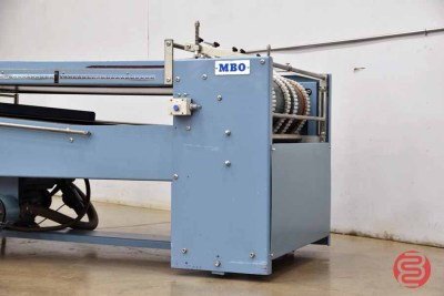MBO B120 Pile Feed Paper Folder w/8 Page unit and Mobile Delivery - 063021114231