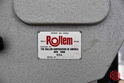 Rollem Model T.R. Autofeed w/ Stacker - 070121101340